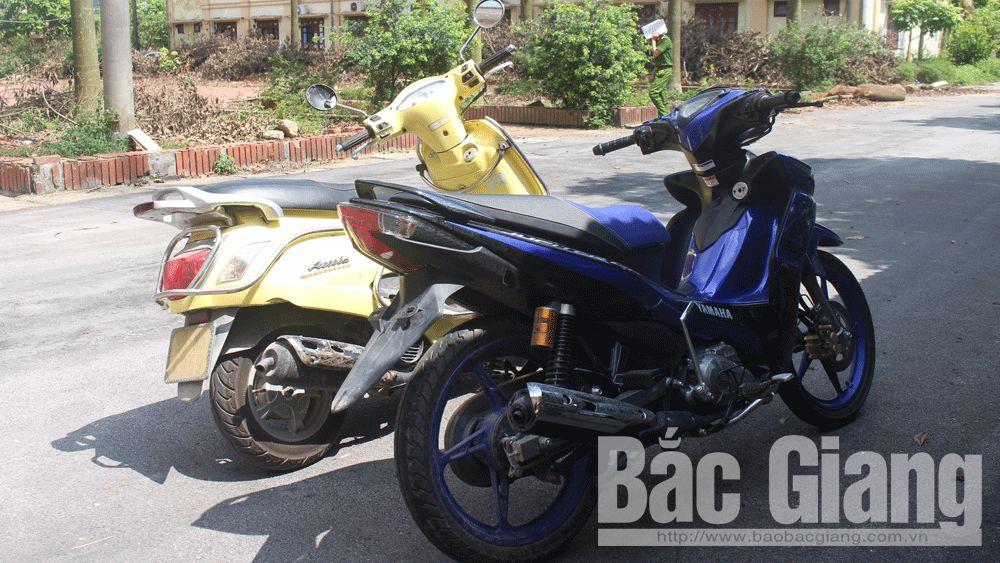 Trộm cắp tài sản; nghiện ma túy; Yên Dũng, xe máy.