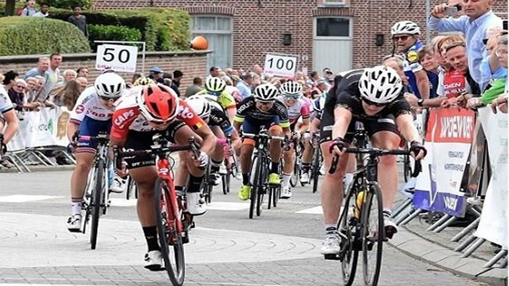 Vietnamese racer, second position, cycling tourney, Belgium, Nguyen Thi That,  Asian champion