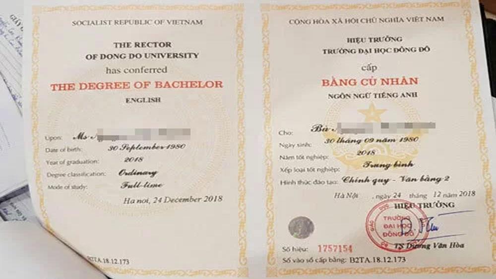 Hiệu trưởng Đại học Đông Đô bị cáo buộc cấp sai hàng trăm văn bằng 2