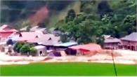 Video lũ cuốn phăng 24 ngôi nhà ở Thanh Hóa trong chớp mắt