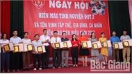 Yên Dũng: Tôn vinh 57 tập thể, cá nhân hiến máu tình nguyện