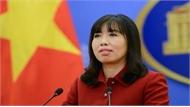 Việt Nam trao công hàm phản đối Trung Quốc tiến hành các cuộc huấn luyện quân sự ở Hoàng Sa