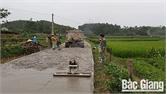 Xuân Lương làm tốt công tác huy động vốn đối ứng làm đường giao thông