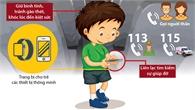 Kỹ năng thoát hiểm khi trẻ bị bỏ quên trong ô tô