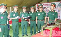 """Hội thi kỹ thuật Bộ CHQS tỉnh Bắc Giang năm 2019: Khi """"lính thợ"""" đua tài"""