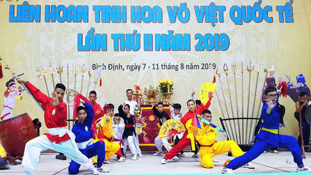 Second Vietnam int'l traditional martial arts festival kicks off in Binh Dinh