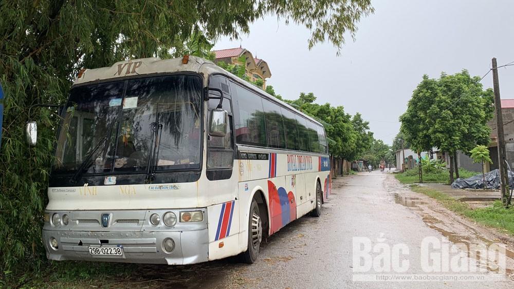 xe hết niên hạn, Hiệp Hòa, tỉnh Bắc Giang