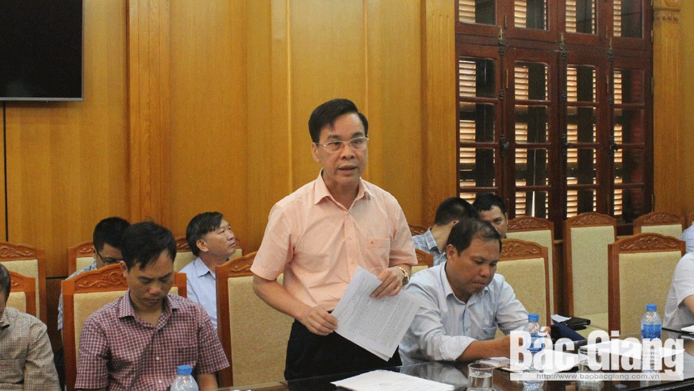 PPC Chairman, Nguyen Van Linh, Bac Giang province, obstacles for enterprises, administrative procedures, investment attraction,