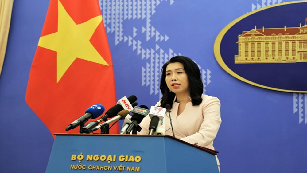 Tàu khảo sát Trung Quốc đã rời khỏi vùng đặc quyền kinh tế của Việt Nam