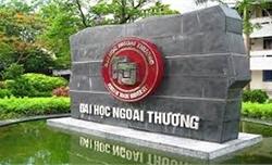 Trường Đại học Ngoại thương công bố điểm chuẩn năm 2019
