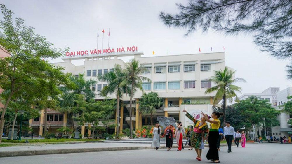 Trường Đại học Văn hóa Hà Nội lấy điểm chuẩn từ 16 đến 26