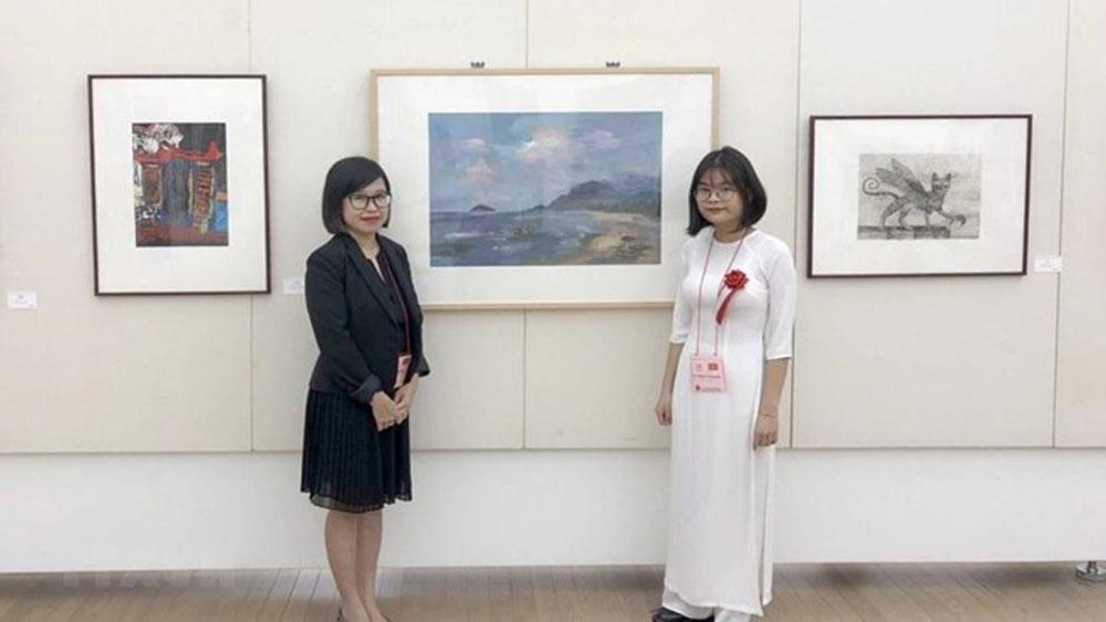 Vietnamese student, Japan, high school arts festival, Vu Nguyen Huong Nhi, Viet Duc high school, ideal destination, culture exchange