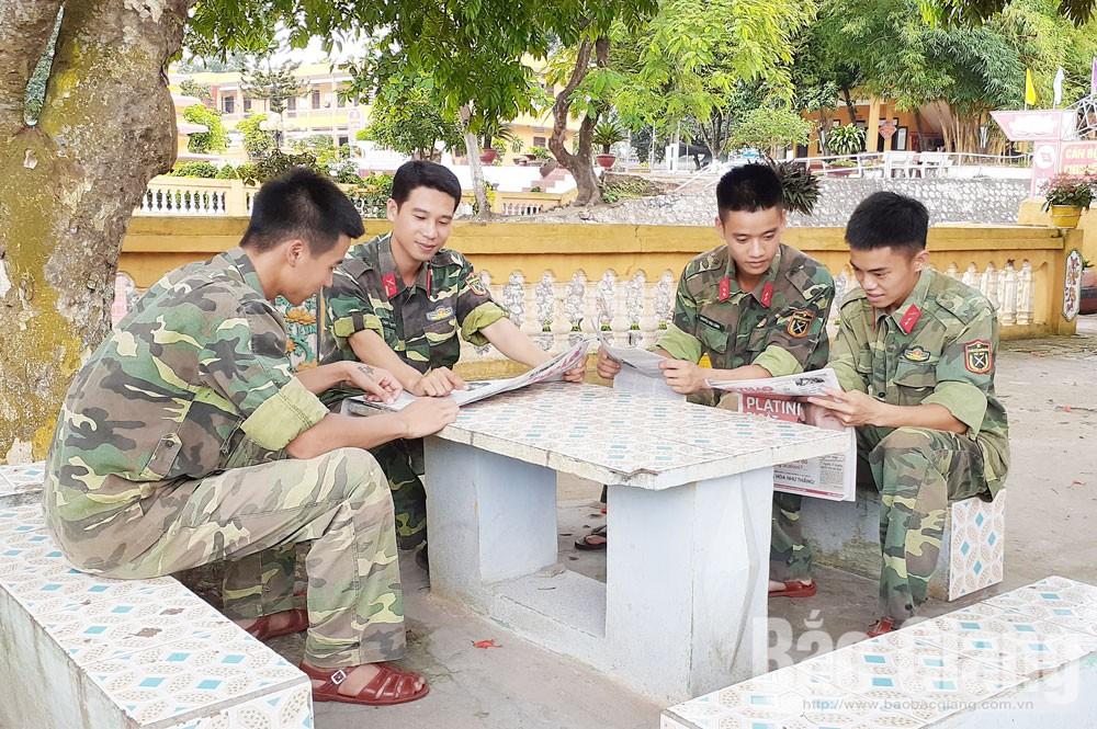 Thiếu tá Hoàng Văn Khuyến, xã Chu Điện, Lục Nam, Bắc Giang, gương mặt trẻ tiêu biểu