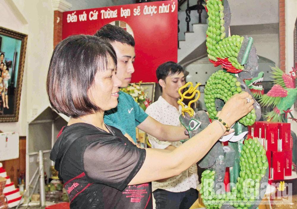 Bắc Giang, hoa, đam mê, kinh doanh, thành công