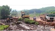 Sơn Động: Cưỡng chế giải phóng mặt bằng đường tỉnh 293