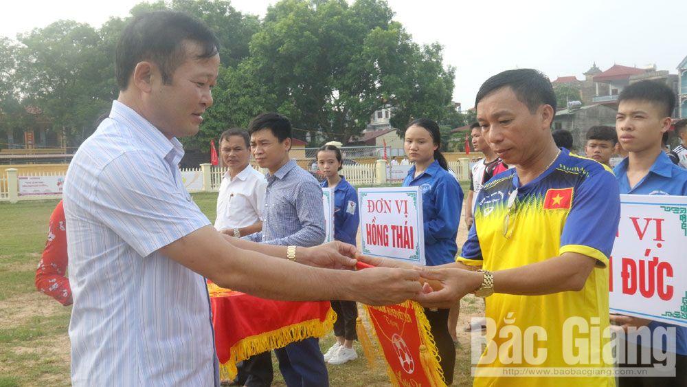 Việt yên, khai mạc, giải bóng đá nam, 2019