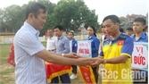 Khai mạc Giải vô địch bóng đá nam Cup Agribank huyện Việt Yên lần thứ VI