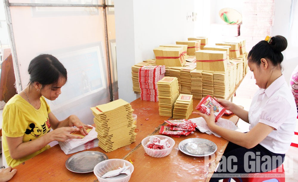 Bac Giang province, Agent Orange victims, production development, good income,  monthly allowances, vocational training