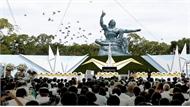 Nhật Bản tưởng niệm 74 năm ngày Mỹ thả bom hạt nhân xuống Nagasaki