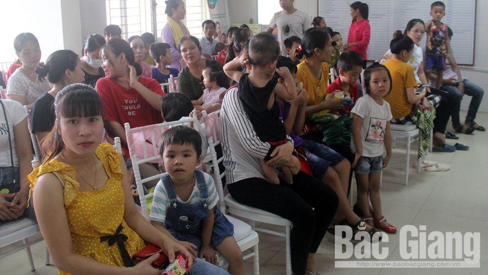 Chương trình trái tim cho em, khám sàng lọc bệnh tim bẩm sinh, Bệnh viện sản- nhi Bắc Giang