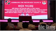 Lãnh đạo Agribank chi nhánh Bắc Giang II đối thoại với thanh niên