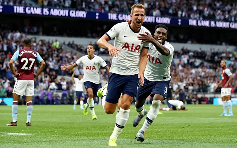 Tottenham, Aston Villa, Ngoại hạng Anh, Ndombele