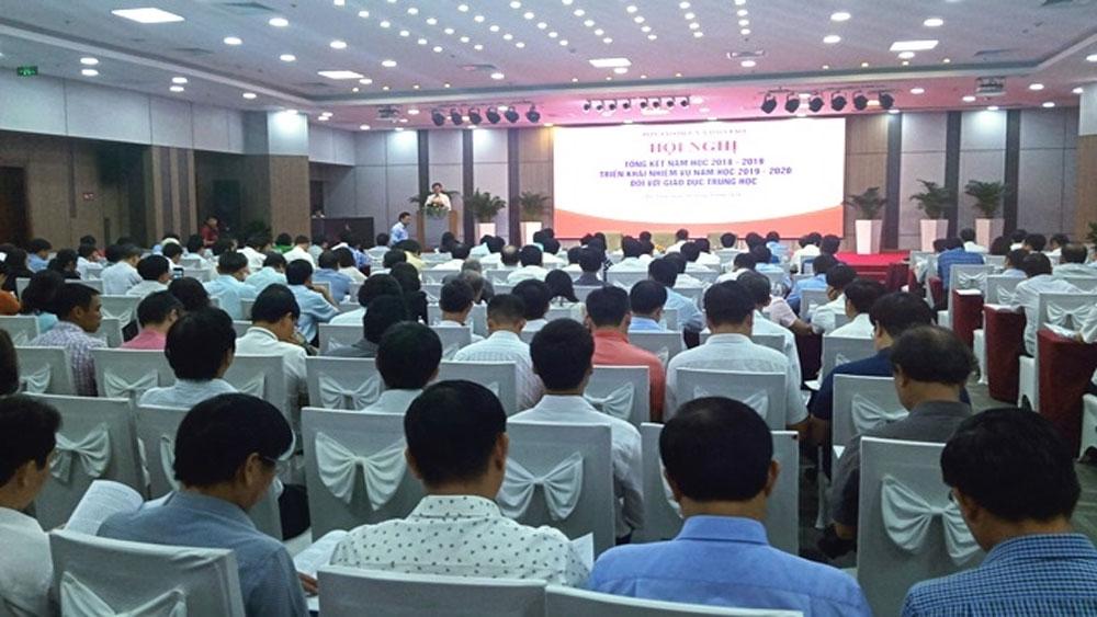 Lấy ý kiến nhân dân, phương án thi THPT quốc gia, Hội nghị tổng kết năm học 2018-2019