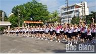 Sôi nổi ngày hội thiếu nhi TP Bắc Giang