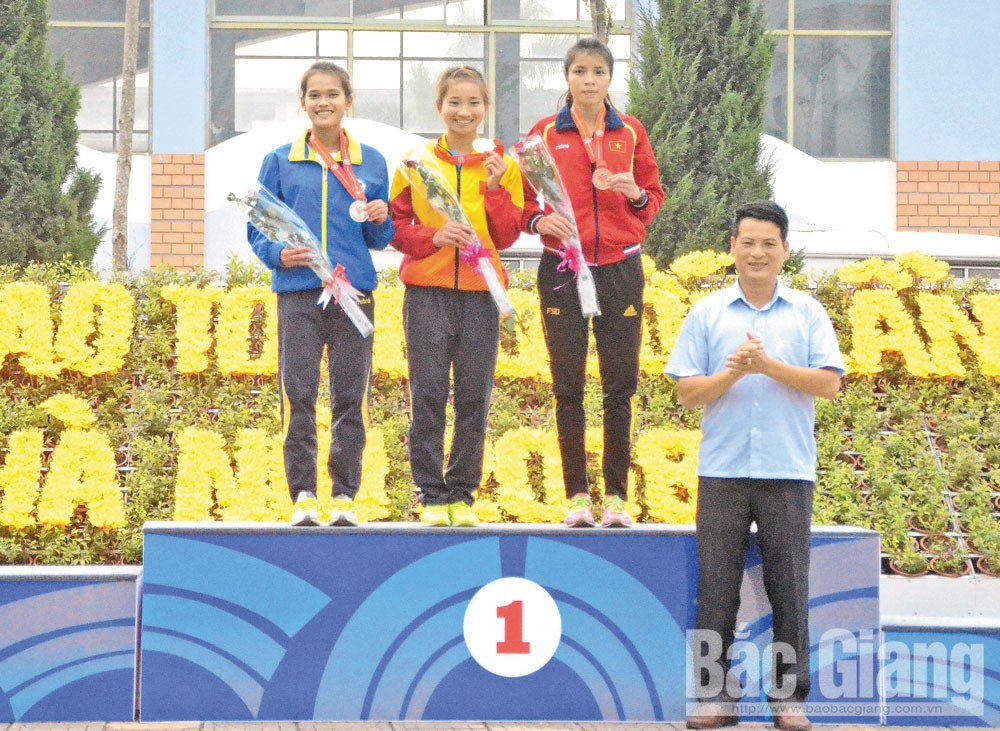 Athlete Nguyen Thi Oanh takes great effort to secure crown at Sea Games 30