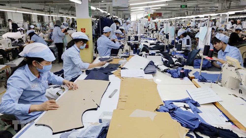 garment-textile, leather shoes, Vietnam's export turnover, EU-Vietnam Free Trade Agreement,  year-on-year increase,  foreign-invested businesses