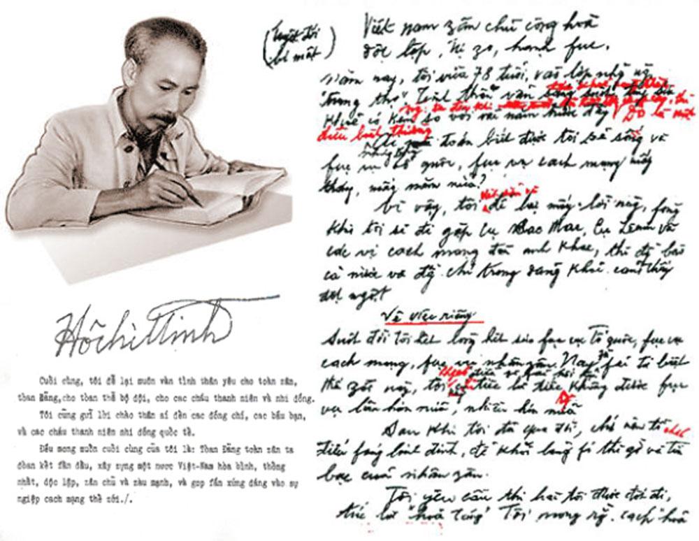 Khoảnh khắc, Tổng bí thư Lê Duẩn, chứng kiến, Bác Hồ viết 'Mấy lời để lại', ông Vũ Kỳ
