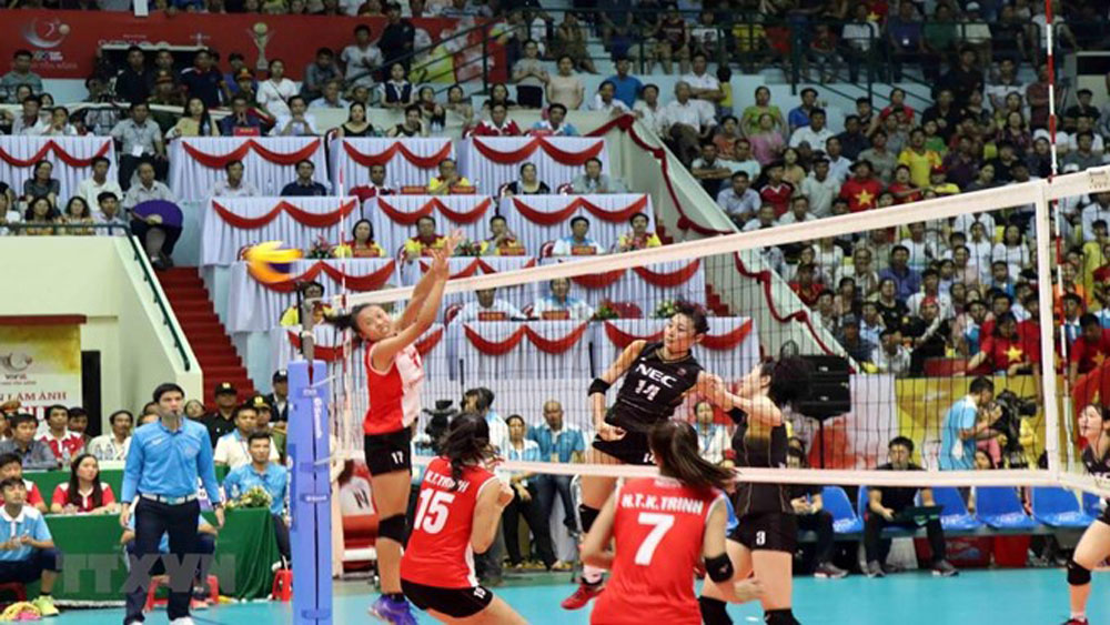 Vietnam wins second prize at VTV international women's volleyball tourney