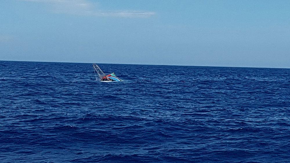 Cứu sống, 6 người trên tàu, bị chìm gần quần đảo Hoàng Sa, tàu QB 92838 TS, ông Phạm Xuân Tùng