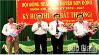 Ông Hoàng Văn Trọng được bầu giữ chức Phó Chủ tịch UBND huyện Sơn Động