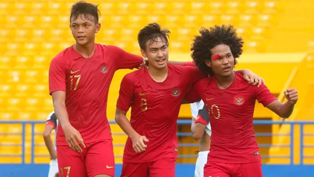 Indonesia thắng ngược Lào, vào bán kết U18 Đông Nam Á