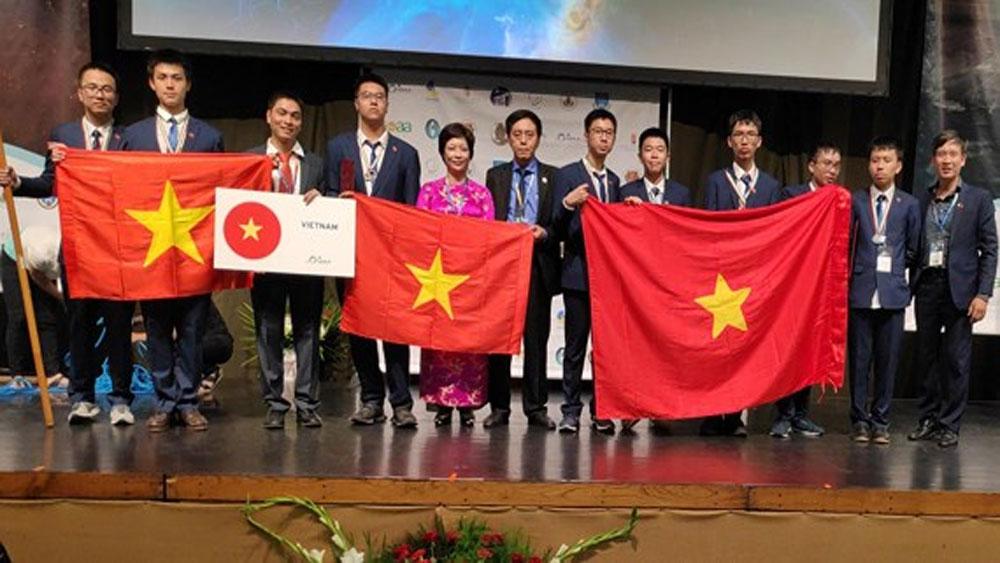 Việt Nam, đứng thứ 5, Kỳ thi Thiên văn và Vật lý thiên văn quốc tế
