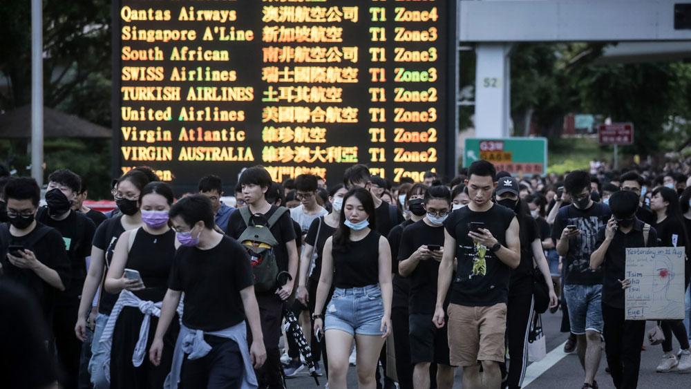 Cảnh sát Hong Kong (Trung Quốc) bắt giữ gần 150 đối tượng biểu tình quá khích