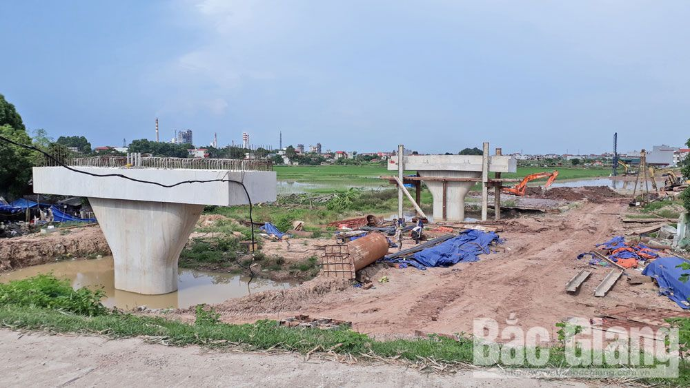 Bac Giang province, construction progress, Mekong Subregion Corridor Towns, Development Project,  Asia Development Bank, urban traffic network,