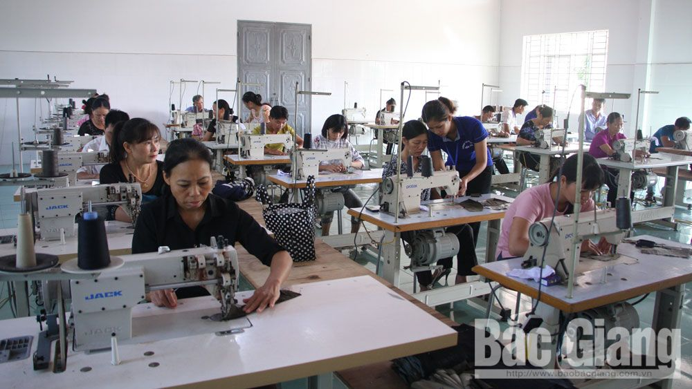 Bac Giang province, rural labors, vocational training,  National Target Programme, new style rural area, actual demand