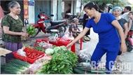 Sau mưa bão, rau xanh ở Bắc Giang tăng giá