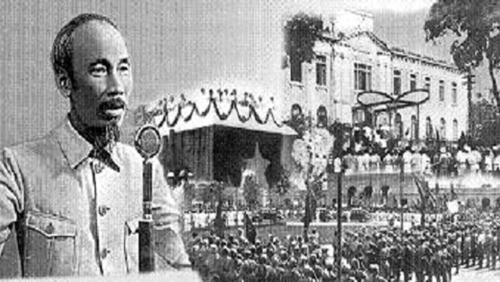 Cách mạng Tháng Tám, Việt Nam dân chủ cộng hòa, dân tộc, Chủ tịch Hồ Chí Minh, Nhật, Pháp