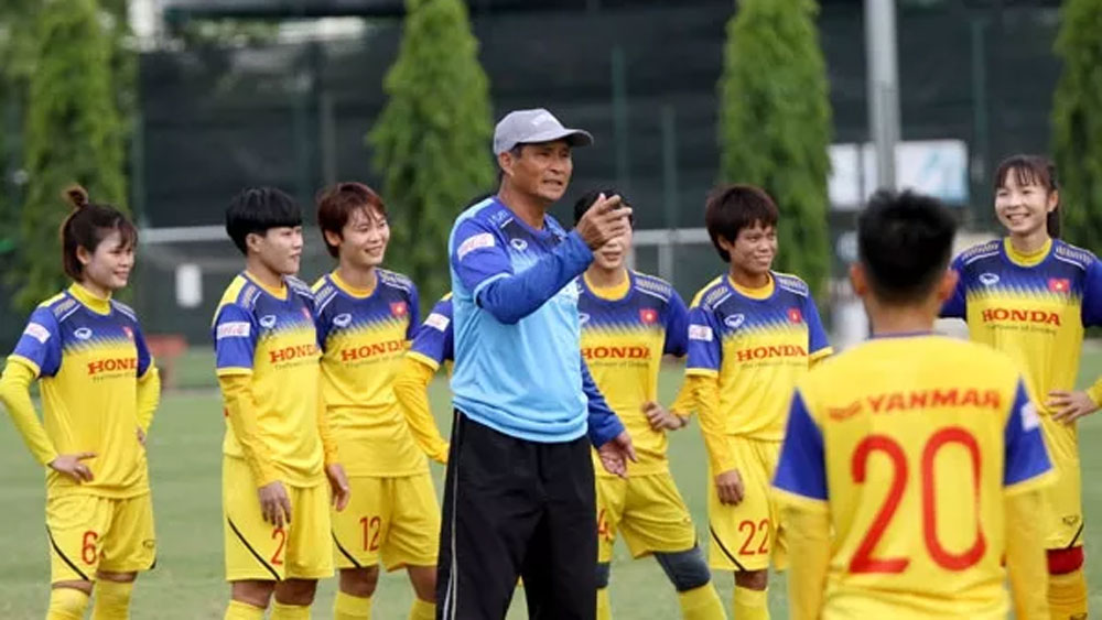 Vietnam, finalise squad, 2019 AFF Women's Championship, head coach Mai Duc Chung, 2019 ASEAN Football Federation, final training session