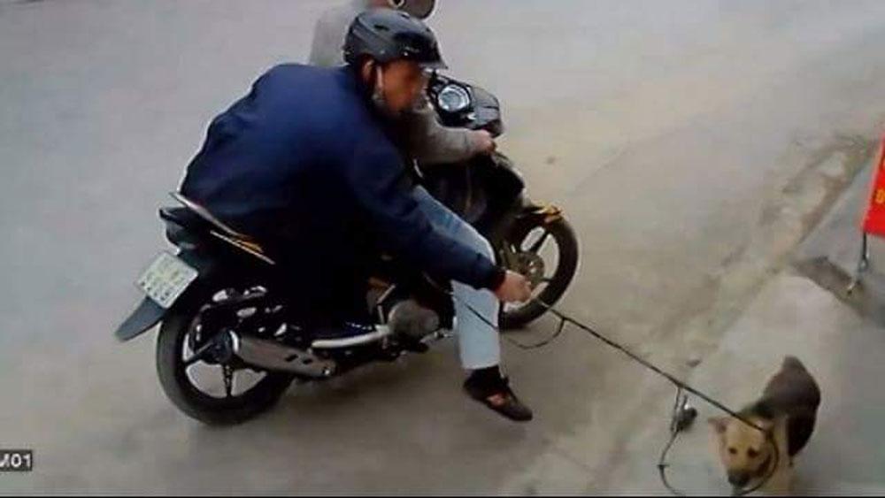 Cặp đôi Thanh Hóa, trộm chó, bị đánh, xích cùng tang vật, chiếc xe máy biển kiểm soát 36U8-2663, Lê Văn Công