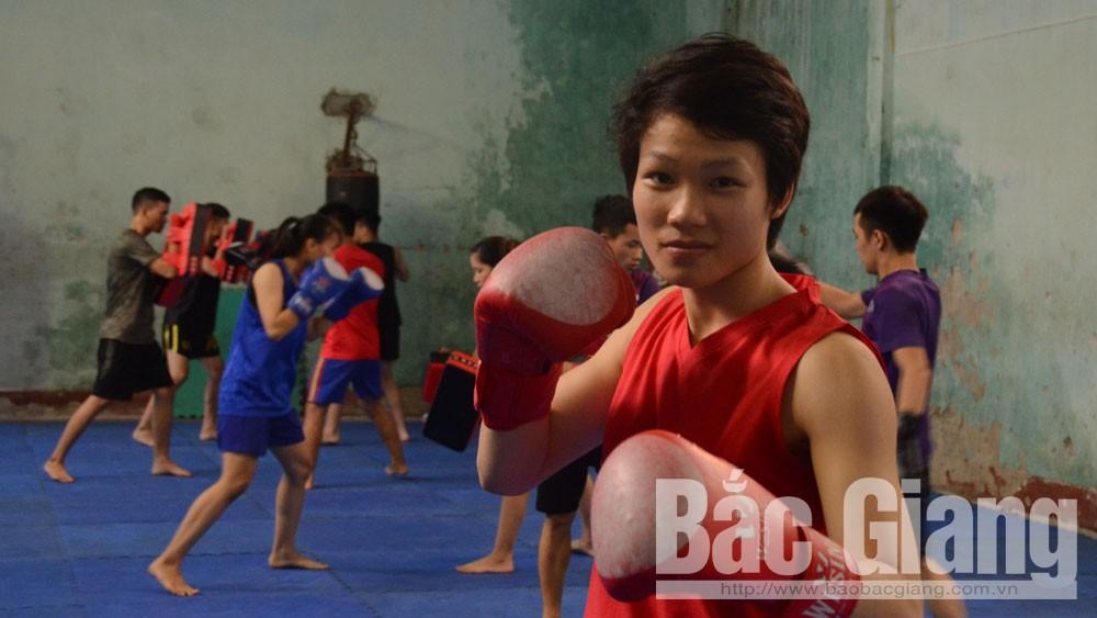 Bắc Giang, vận đông viên, thể thao, đội tuyển quốc gia, vận động viên Nguyễn Thị Oanh