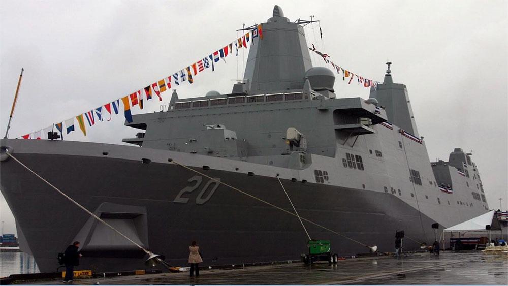 Trung Quốc, từ chối, tàu hải quân Mỹ, thăm Hong Kong, tàu vận tải Green Bay