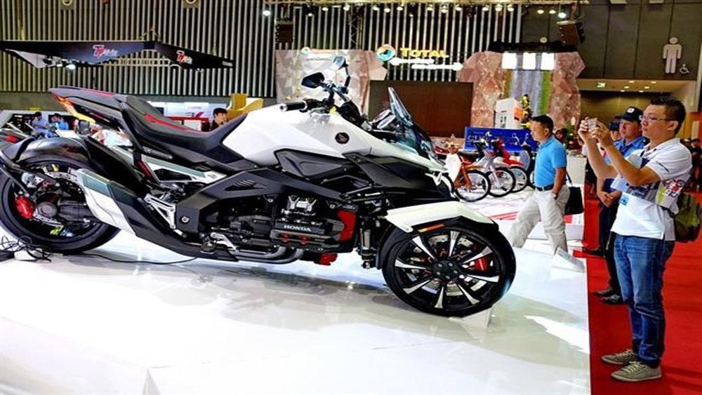 Vietnam motorcycle market, 4th rannking, world market, new local producer, high-end segments
