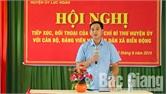 Bí thư Huyện ủy Lục Ngạn Nguyễn Việt Oanh tiếp xúc, đối thoại với cán bộ, đảng viên và nhân dân