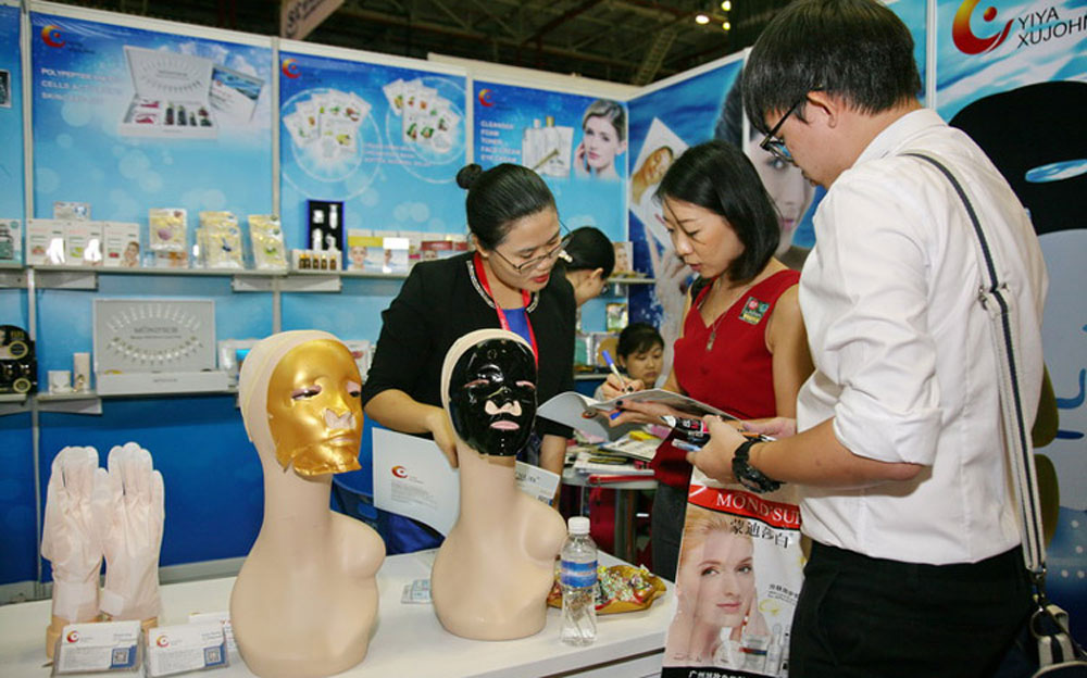 Vietnam, largest beauty trade event,  450 enterprises, Vietbeauty, Mekong Beauty Show, well-known brands, Vietnamese products
