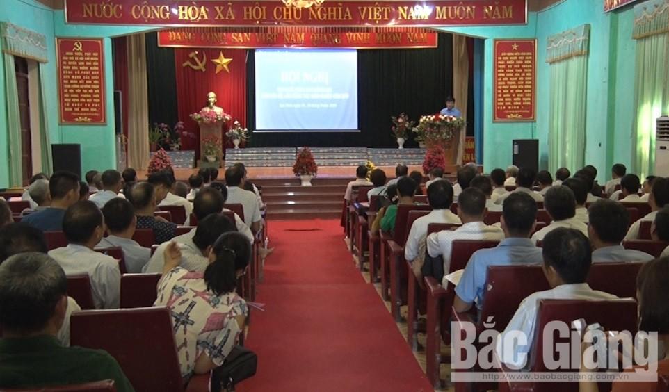 UBND huyện Lục Nam, huyện Lục Nam, công tác giảm nghèo ở Lục Nam