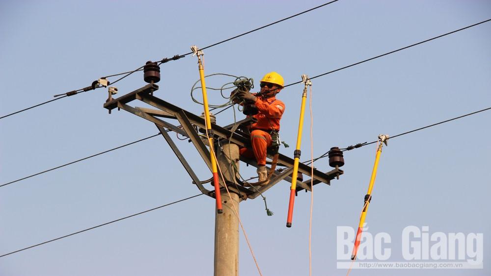 Điện lực Bắc Giang không cắt điện trong những ngày nắng nóng